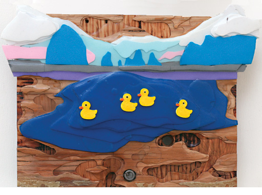 steve newberry art: ducks in alaska 3
