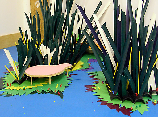 steve newberry art: pond (for the urban dweller)